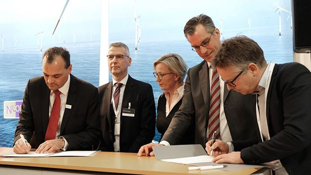 Signing of offshore contract with Vattenfall in 2017