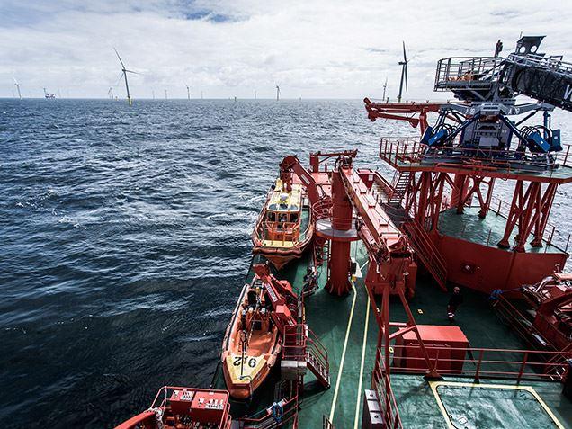Service operation vessels for wpd I Siemens Gamesa