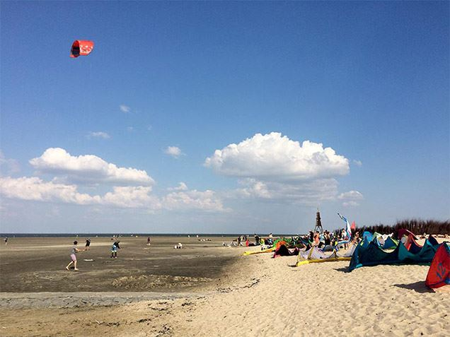 Quality of life in Cuxhaven: The North Sea is always close