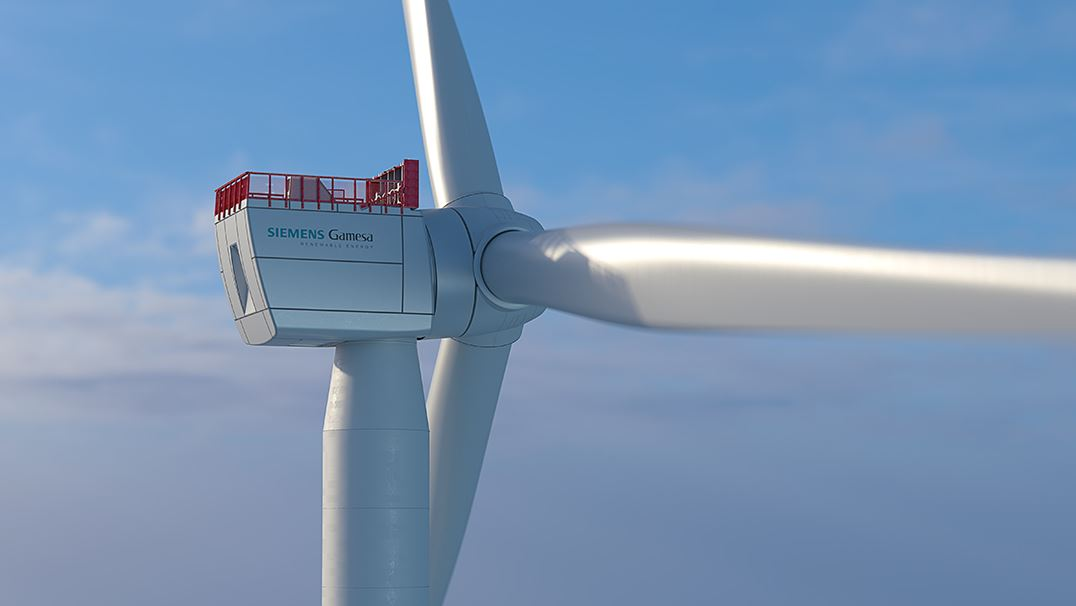 The 10 MW generation V offshore wind turbine uses a new and more powerful direct drive generator