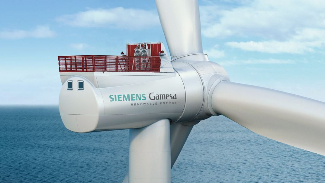The SG 8.0-167 DD comes with a larger rotor for higher energy production
