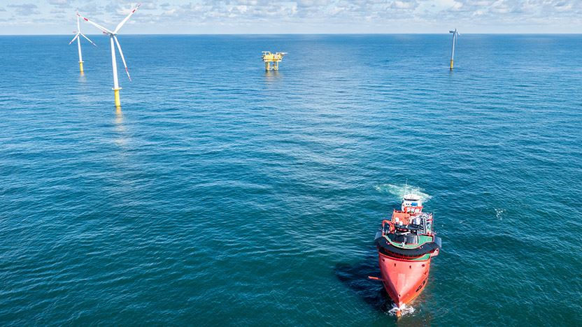 wpd offshore: Butendiek wind farm