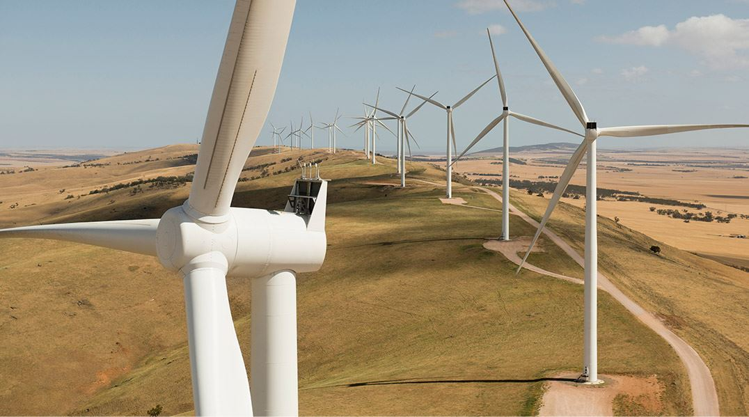 Siemens Gamesa Direct Drive turbines each produce 3 MW