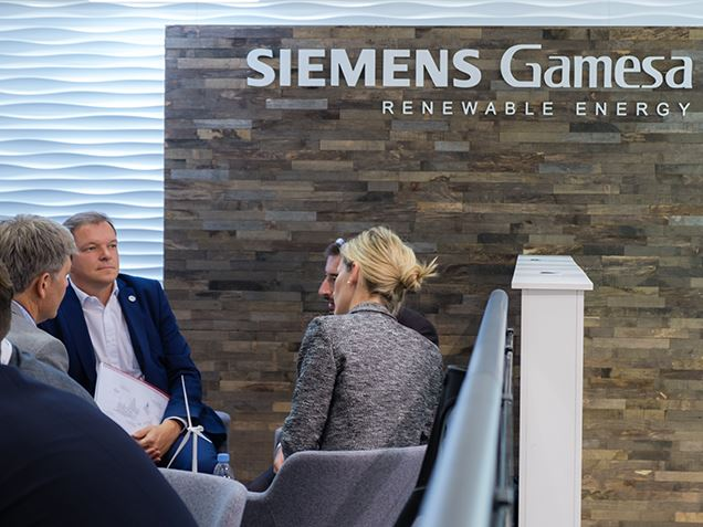 Get in contact with Siemens Gamesa experts at AWEA WINDPOWER 2019