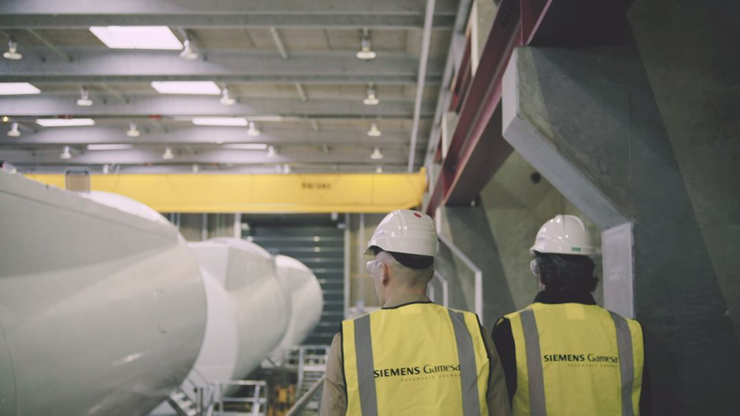 Interview with procurement and project execution engineers at Siemens Gamesa Denmark