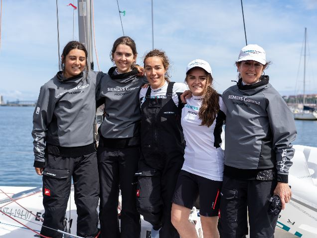 Sponsorship of the women's racing team