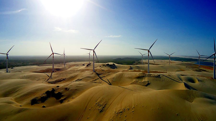 Order for 128 MW for a Voltalia wind project in Brazil