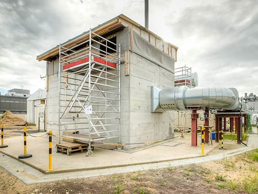 Thermal storage application in Germany built in 2014